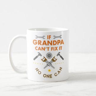 Mug Si le grand-papa ne peut pas le fixer personne ne