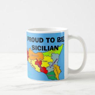 Mug Sicilia, sicilien fier