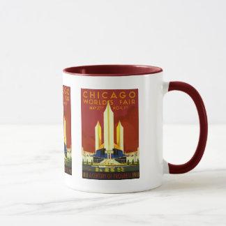 Mug Siècle 1933 de l'Exposition universelle de