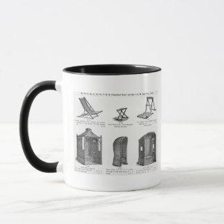 Mug Sièges et tonnelles du catalogu d'Oetzmann et de