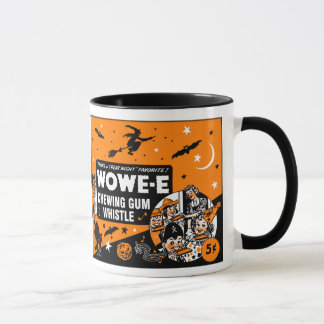 Mug Sifflement vintage de chewing-gum de Halloween