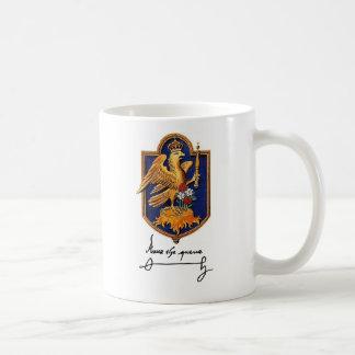 Mug Signature d'Anne Boleyn et manteau des bras