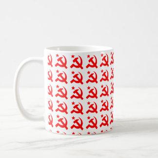 Mug Signe de communisme de vecteur de marteau
