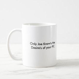 Mug Signe de magasin de M. Joe PC correct, seulement t