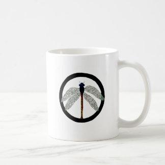 Mug Signe de paix de libellule