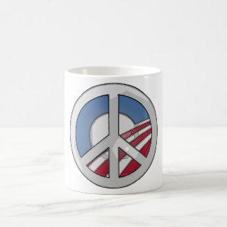 Mug Signe de paix d'Obama