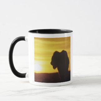 Mug Sihouette de taureau de bison chez Theodore