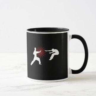 Mug Silhouette d'énergie d'arts martiaux