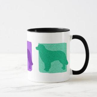 Mug Silhouettes colorées de Hovawart