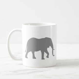 Mug Silhouettes d'éléphant africain
