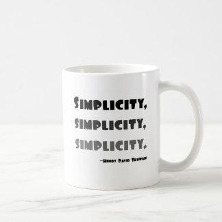 Mug Simplicité