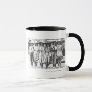 Mug Six cow-girls aux jours de frontière de Cheyenne
