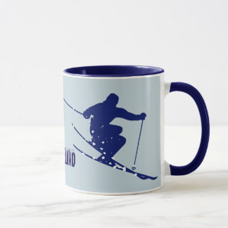 Mug Skieur de bleu de Loveland