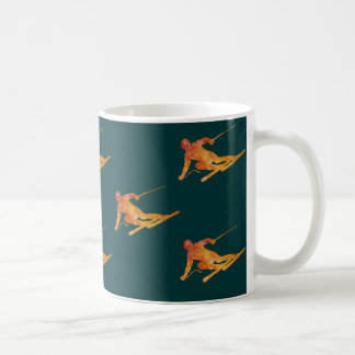 Mug Skieurs oranges