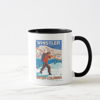 Mug Skis de transport de neige de skieur - Whistler,