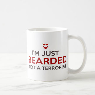 Mug Slogan islamique je suis simplement barbu pas un