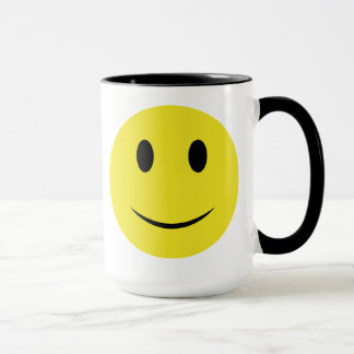 Mug Smiley be Happy or Not
