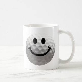Mug Smiley de boule de golf