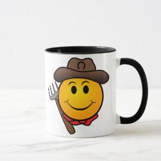 Mug Smiley de cowboy