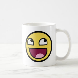Mug Smiley impressionnant de visage