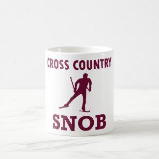 Mug Snob de ski de pays croisé