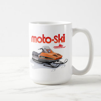 Mug snowmobile de ski de moto