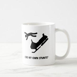 Mug Snowmobile mes propres cascades