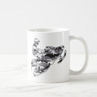 Mug Snowmobiler dans Camo gris