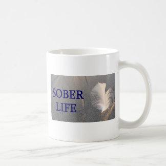 Mug Sober life Plume