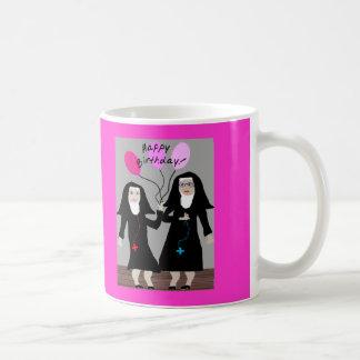 """Mug Soeur joyeux anniversaire """" de cadeaux"""