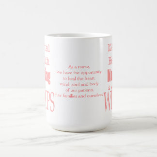 Mug Soins-Non de santé mentale pour des mauviettes ! -
