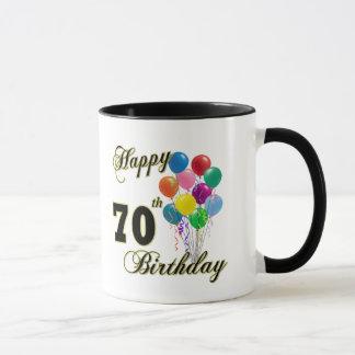 Mug Soixante-dixième cadeaux d'anniversaire et