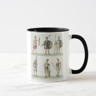 Mug Soldats romains, détail du plat 2, classe 5 de PA