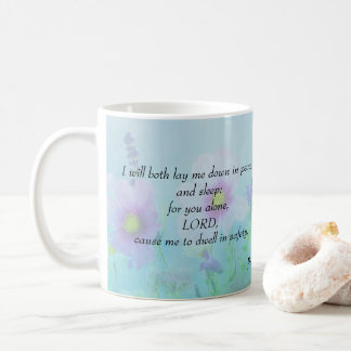 Mug Sommeil paisible, psaumes 4