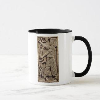 Mug Soulagement dépeignant un guerrier