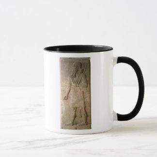 Mug Soulagement d'un guerrier assyrien