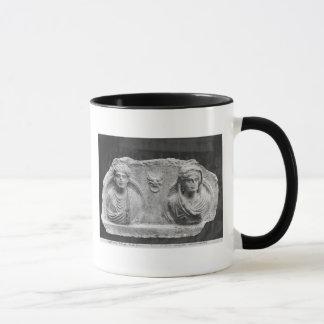 Mug Soulagement funéraire d'un couple, de Palmyra, la