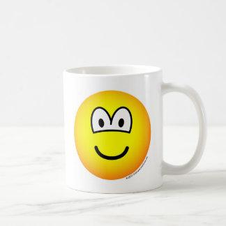 Mug Sourire ! grande émoticône de tellow