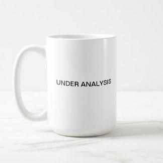 Mug Sous l'analyse