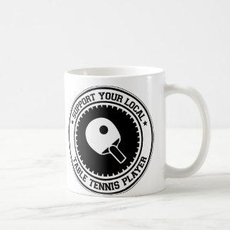 Mug Soutenez votre joueur local de ping-pong