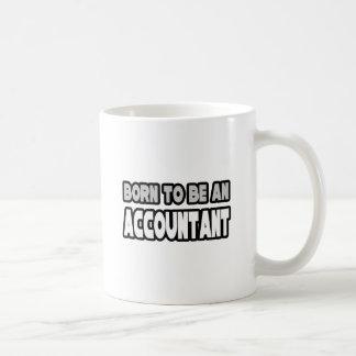 Mug Soutenu pour être un comptable