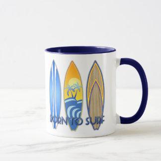 Mug Soutenu pour surfer
