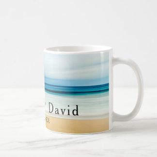 Mug Souvenir de souvenir de mariage de plage de