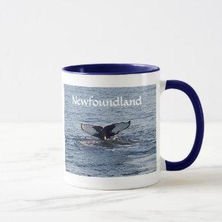 Mug Souvenir de Terre-Neuve - queue de baleine