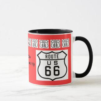 Mug Souvenir de voyage par la route de l'itinéraire 66