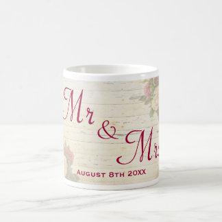 Mug Souvenir fait sur commande chic minable de mariage