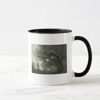 Mug Souvenirs de Mortefontaine, 1864
