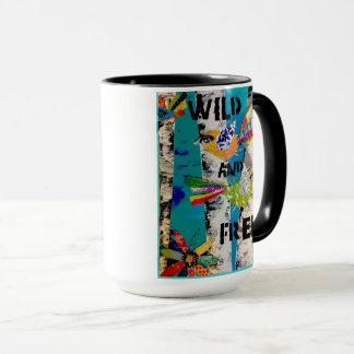 Mug Soyez comme un oiseau. Sauvage et libre !