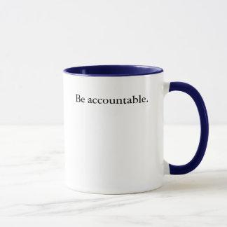 Mug Soyez responsable