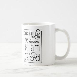 Mug Soyez toujours et sachez que je suis vers de bible